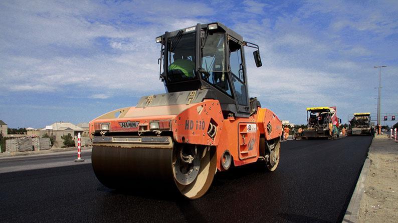 Bakı - Quba avtomobil yolunun 3-8 km hissəsinin yenidənqurulması
