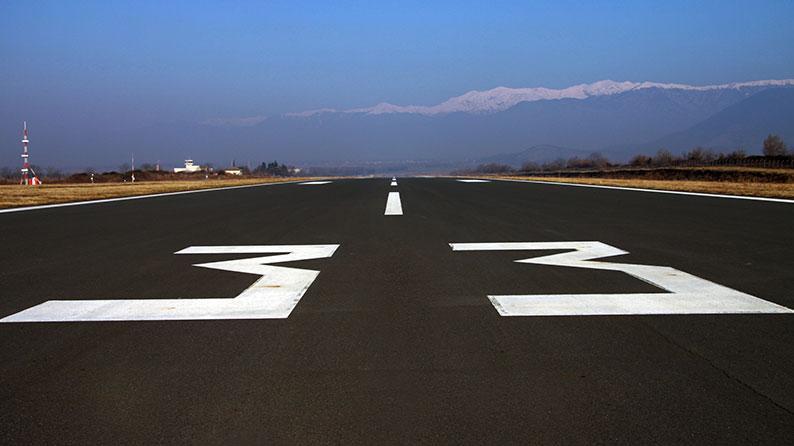 Zaqatala hava limanının mövcud uçuş-enmə zolağının uzadılması və perronun genişləndirilməsi